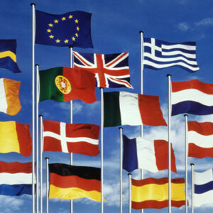 Internationale flag - Tunetanken